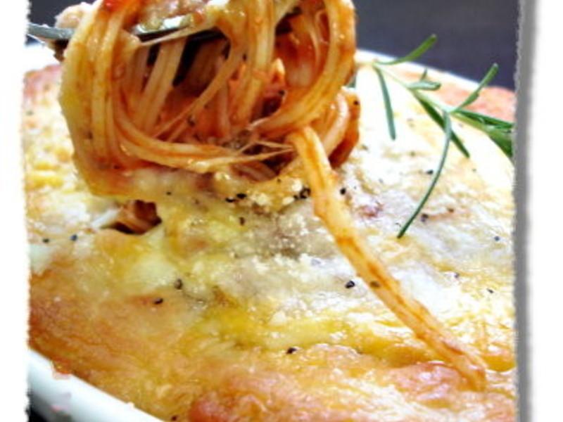 焗烤肉醬義大利麵