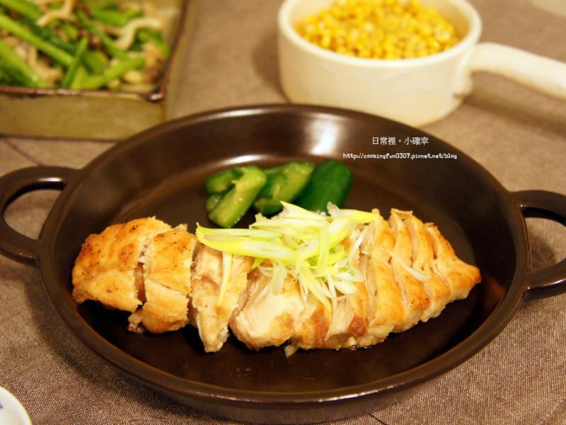芥末鹽蔥雞肉