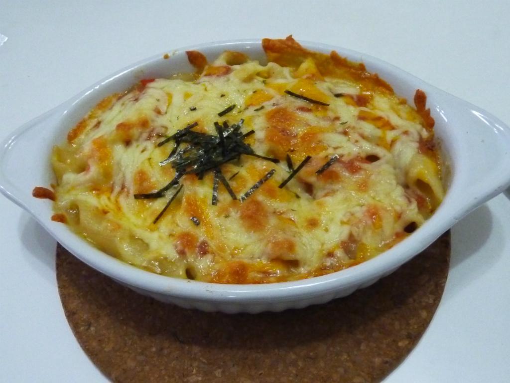 明太子海鮮白醬義大利斜管麵