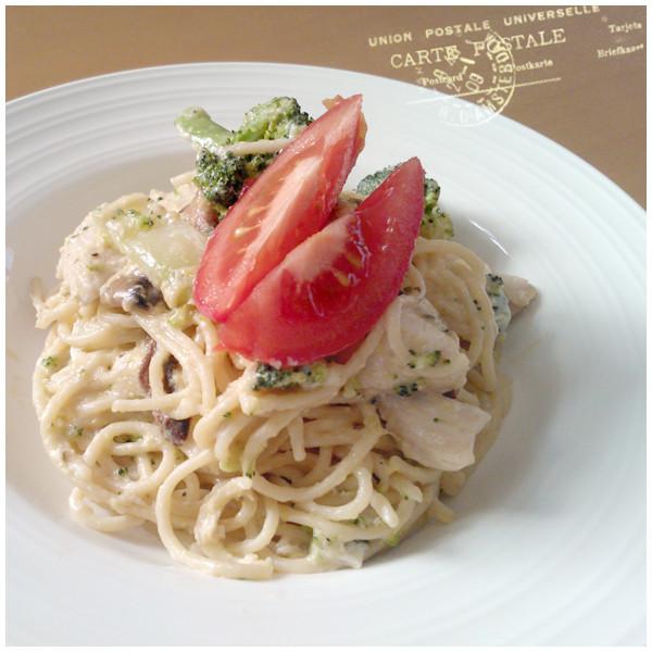  義大利 超濃郁的蘑菇奶油Pasta大人!
