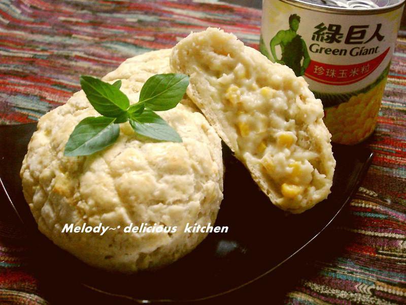 奶香玉米波蘿包~ [綠巨人黃金玉米鑽石規格]