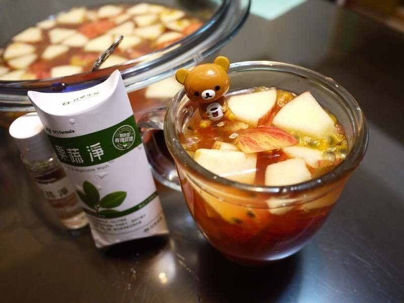 「Dr's Formula果蔬淨」新鮮水果茶