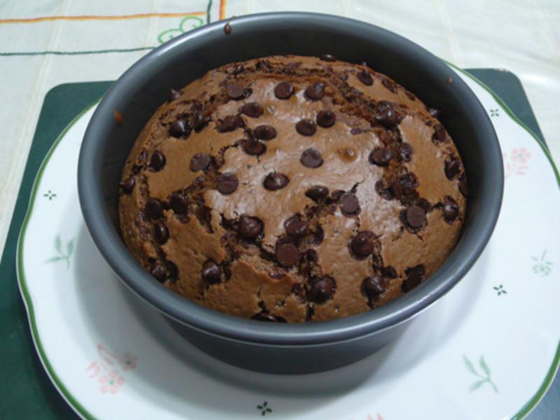 lanni  鬆餅粉巧克力蛋糕
