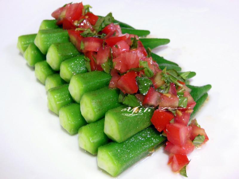 ♥憶柔蔬食♥墨西哥Salsa(莎莎醬)秋葵