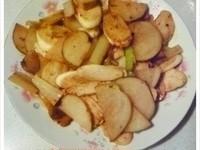 <PJ>傻瓜煮。醬爆香芹脆薯美人腿