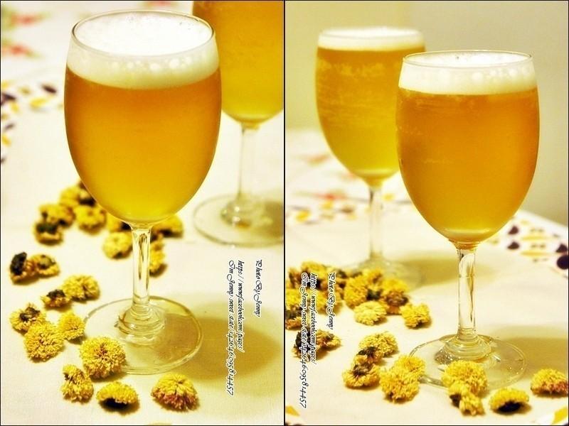 蜂蜜菊花茶