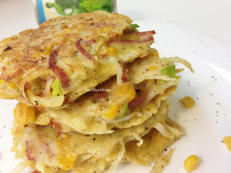 馬鈴薯玉米火腿煎餅-[綠巨人黃金玉米鑽石規格]