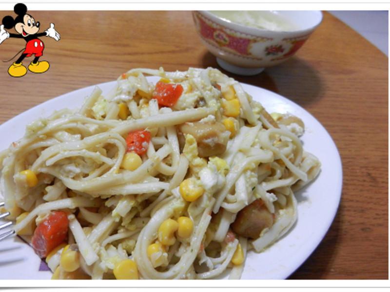 【康寶就是醬美味】火腿磨菇濃湯麵+湯+泡飯 一醬三吃