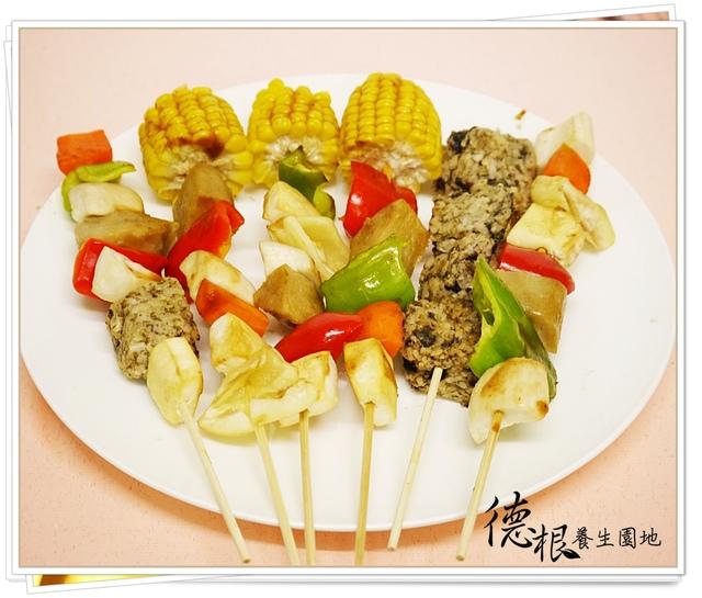 中秋節素食烤肉