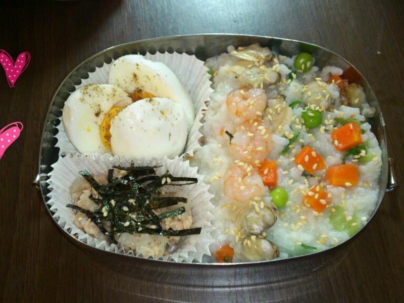 蛤蠣海鮮燉飯-愛妻便當