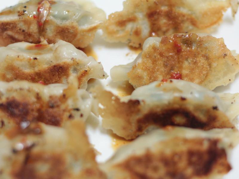 鮮肉韭菜煎餃