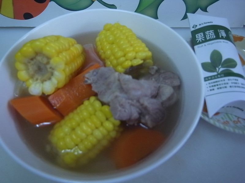 【Dr's Formula果蔬淨】 紅蘿蔔玉米排骨湯