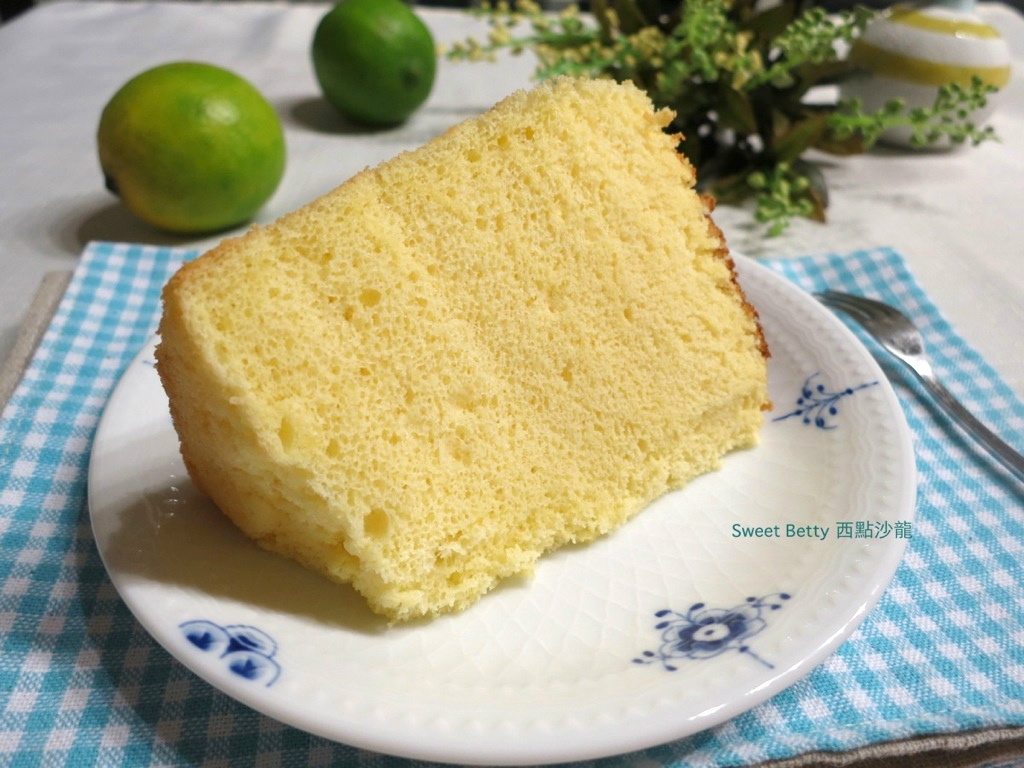 檸檬戚風蛋糕