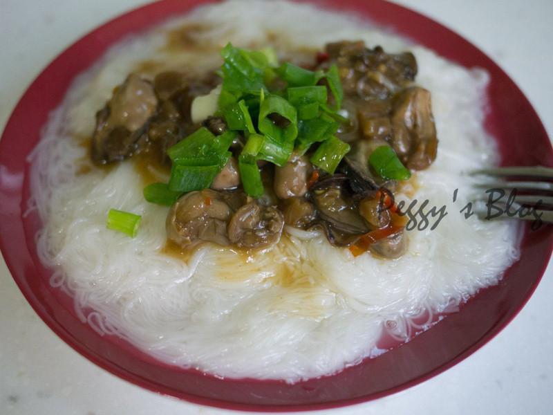 澎湖牡蠣醬拌手工麵線