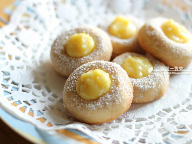 檸檬拇指餅乾