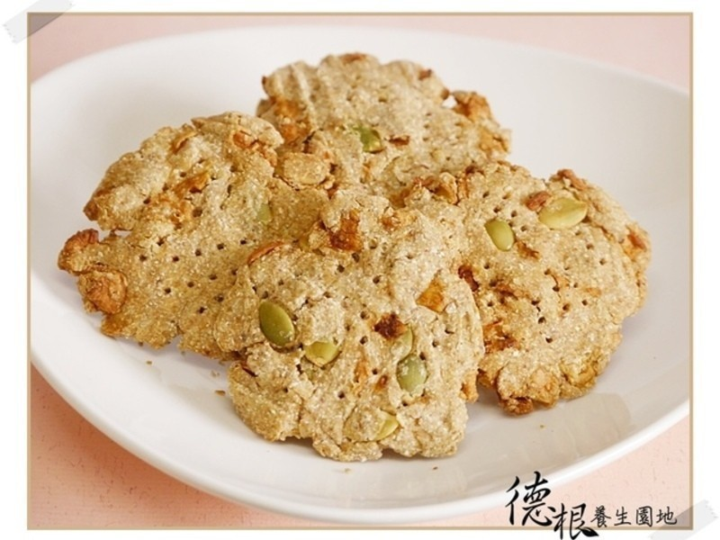 燕麥果乾堅果餅乾(純素)