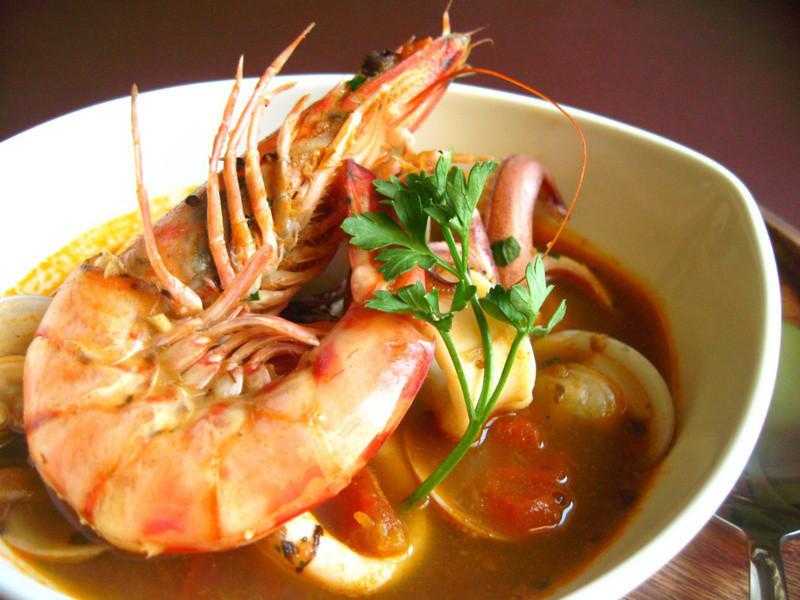 義式番茄海鮮湯