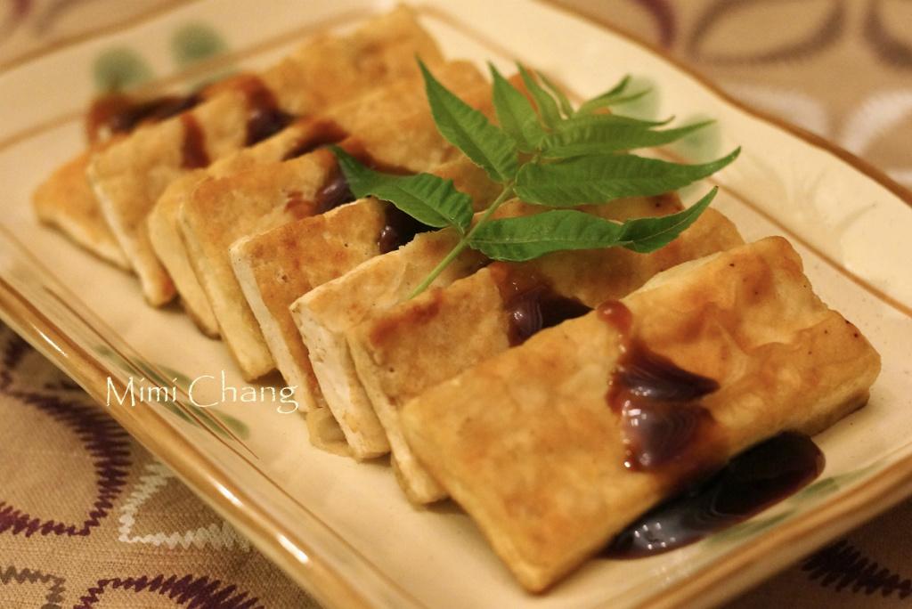 Mimi♥香煎木棉豆腐