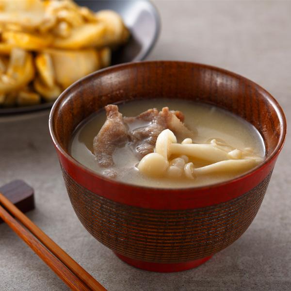 雪白菇豬肉味增湯