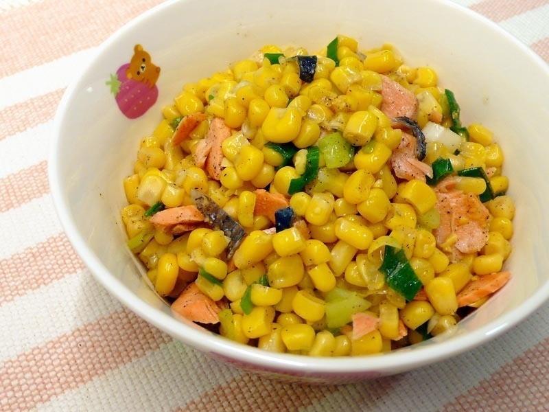檸檬鹹鮭玉米暖沙拉 ♠暖沙拉4♠ 綠巨人黃金玉米鑽石規格