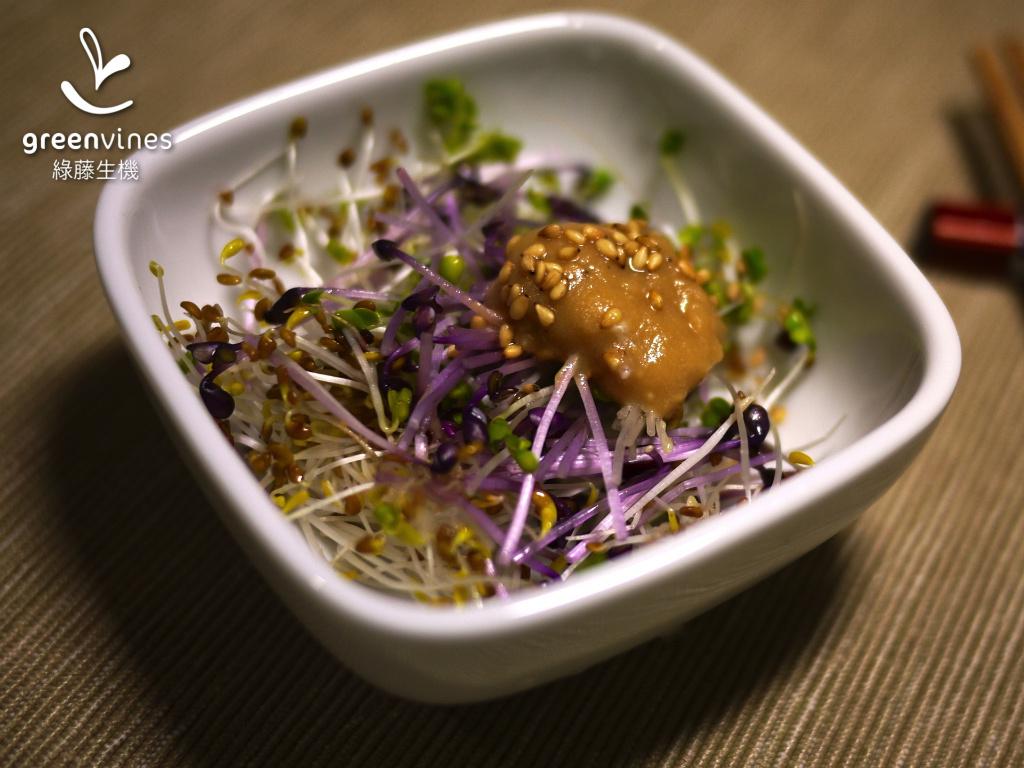 [綠藤私房醬] 和風芝麻沙拉醬
