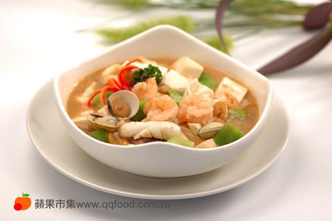 蝦醬豆腐煲