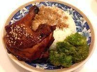一人晚餐:::照燒雞腿飯