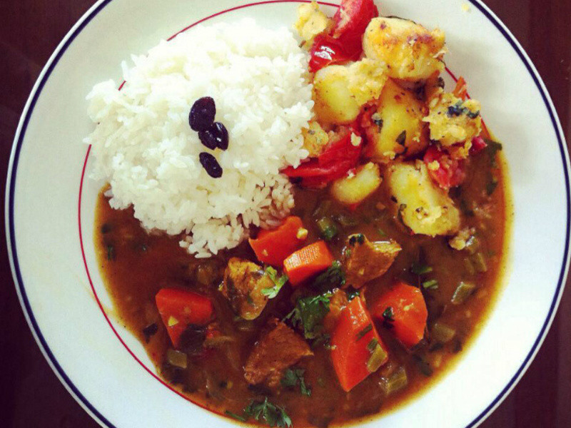 Indian curry 印度咖哩