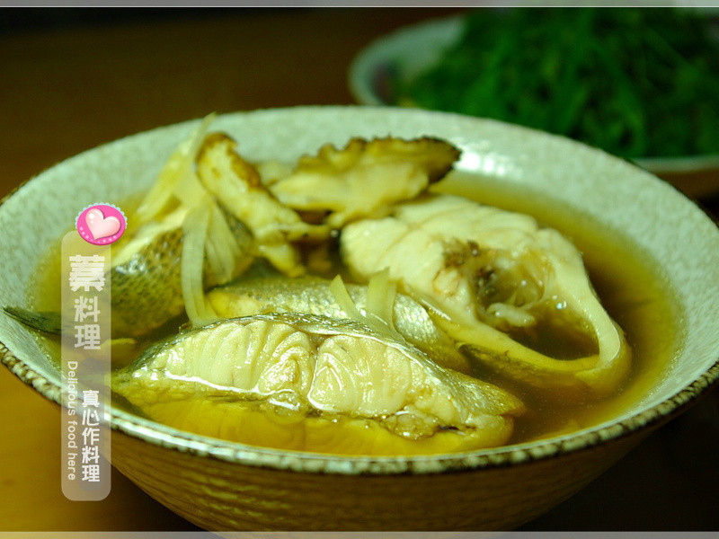 蓁料理♥藥膳鱸魚湯