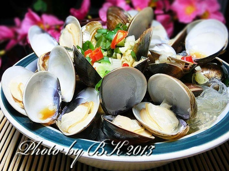 鮮味蛤蜊蒸粉絲