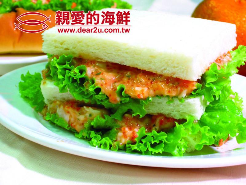 龍蝦沙拉吐司