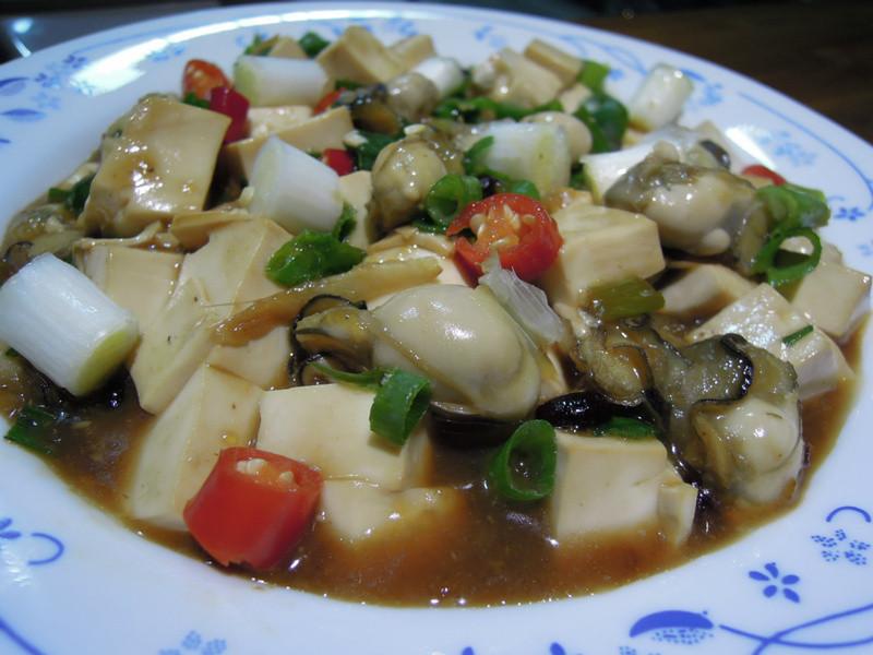 安永海鮮 新鮮又美味  鮮蚵燴豆腐