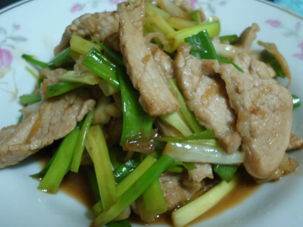 時間淬釀的甘露之味-蔥燒松阪豬(昆布醬油)