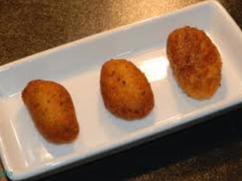 小吃西班牙 - 鱈魚肉丸子