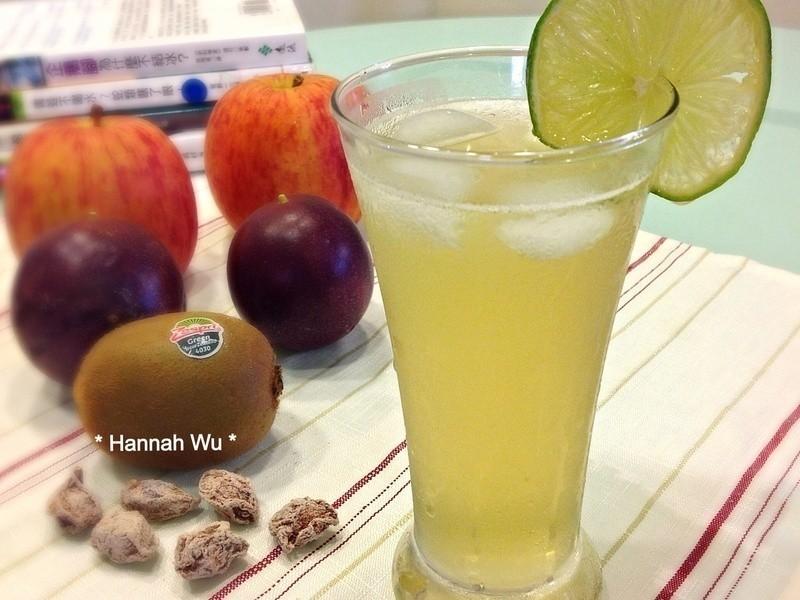 蜂蜜檸檬梅子綠茶