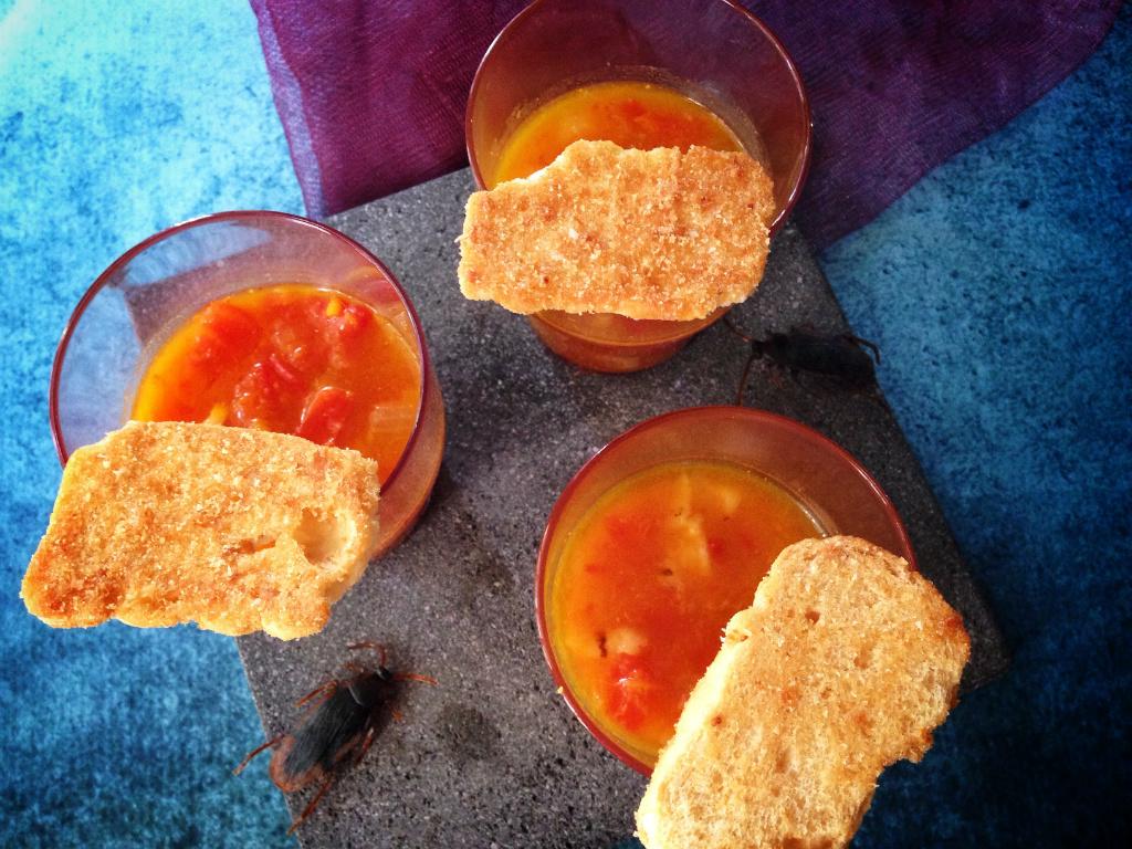 南瓜墨西哥餅皮湯 Pumpkin Tortilla Soup