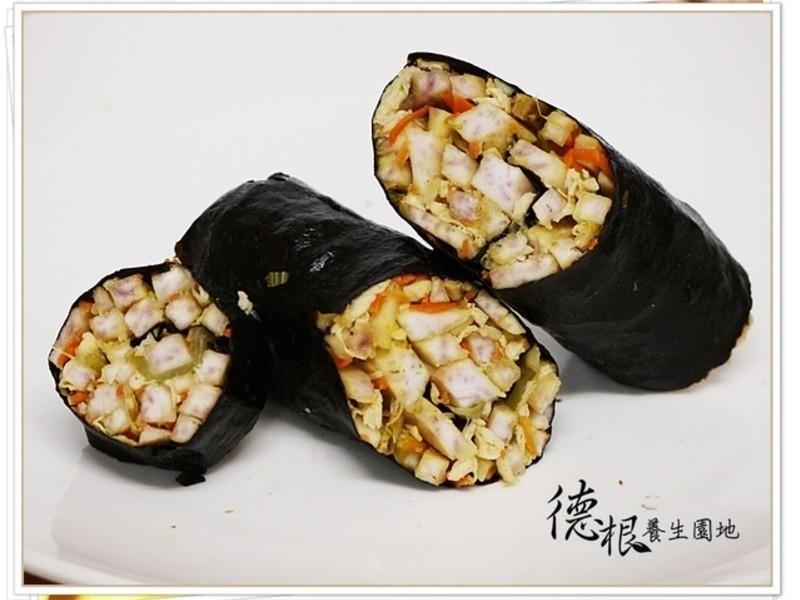 芋頭絲海苔捲 (新鮮芋頭保存方法)