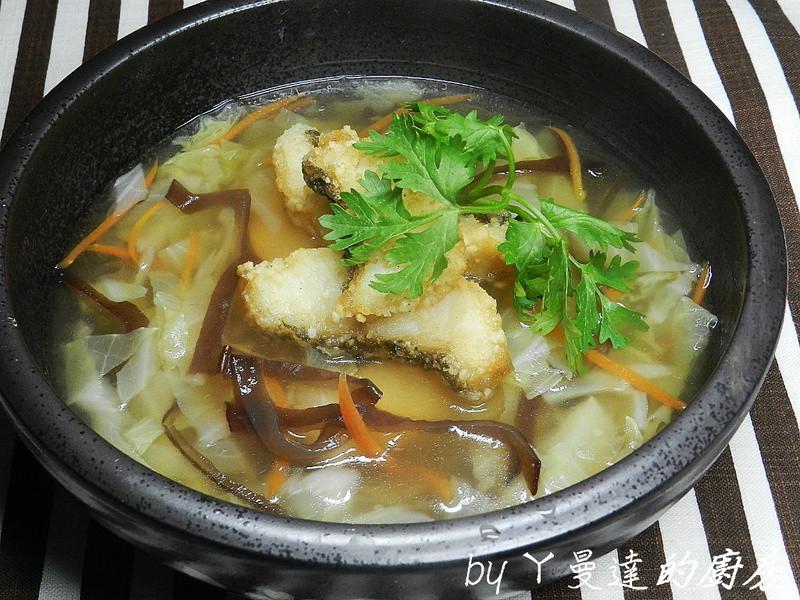 ㄚ曼達的廚房~鸚哥魚羹湯