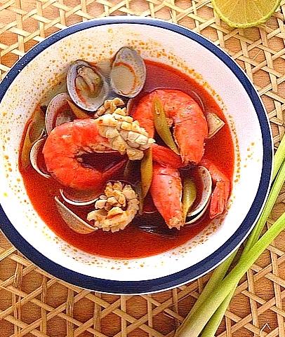 泰式海鮮酸辣湯