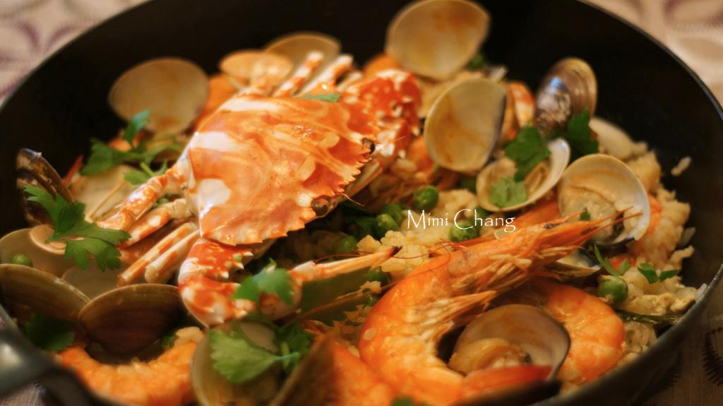 Mimi♥花蟹海鮮燉飯