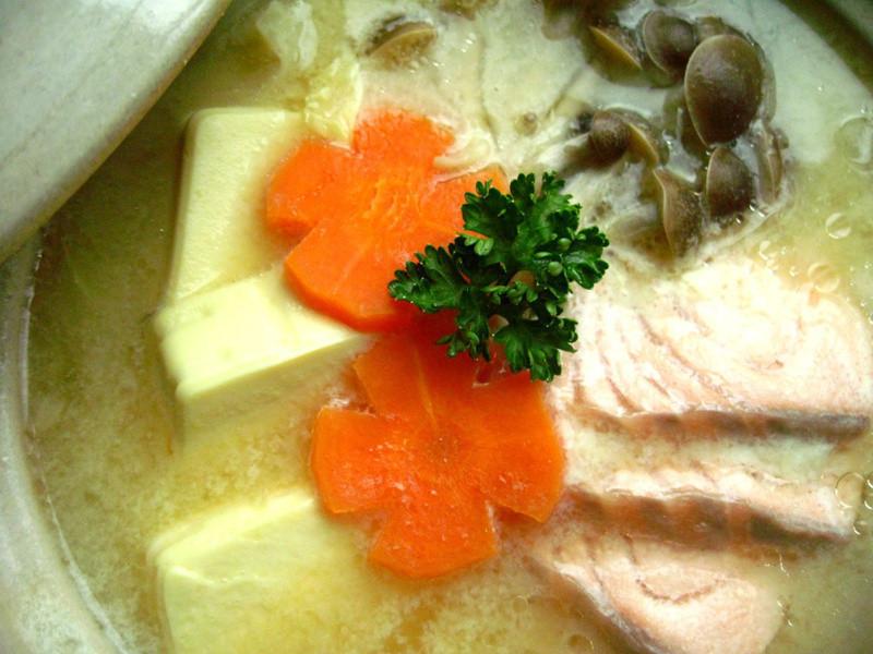 北海道鮭魚石狩鍋