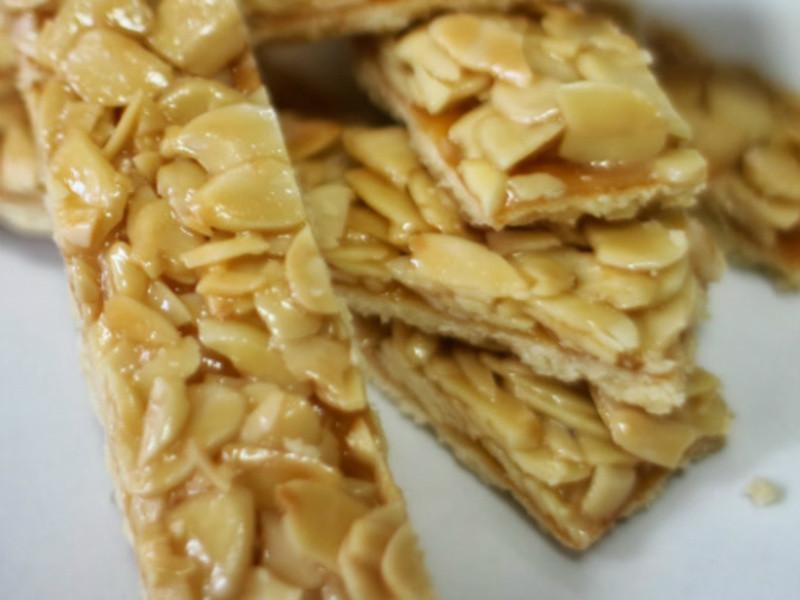Florentins 焦糖杏仁酥餅