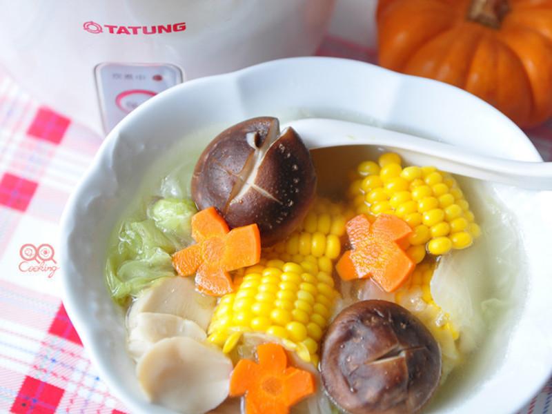 【我與大同美味燉湯】玉米鮮蔬湯