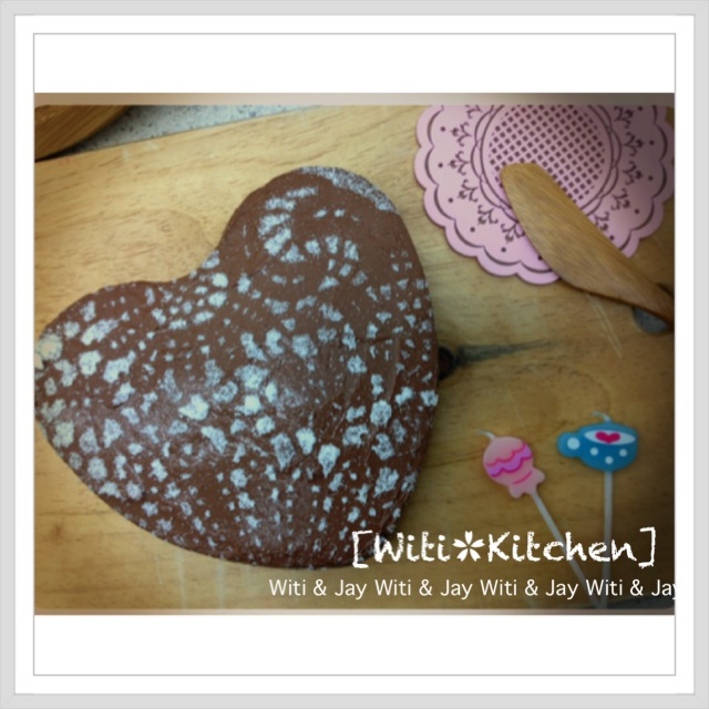 "[Witi✿Kitchen]""免烤""巧克力重乳酪蛋糕"