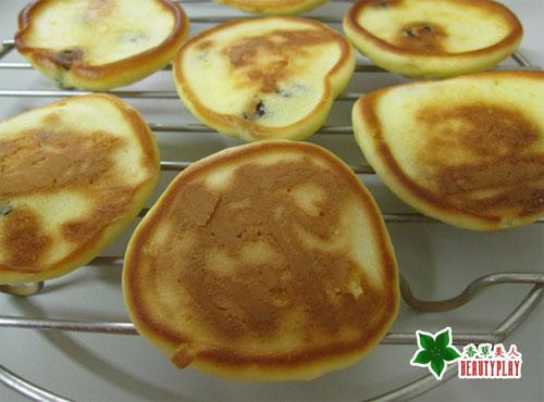 電子鍋~優酪麻糬鬆餅