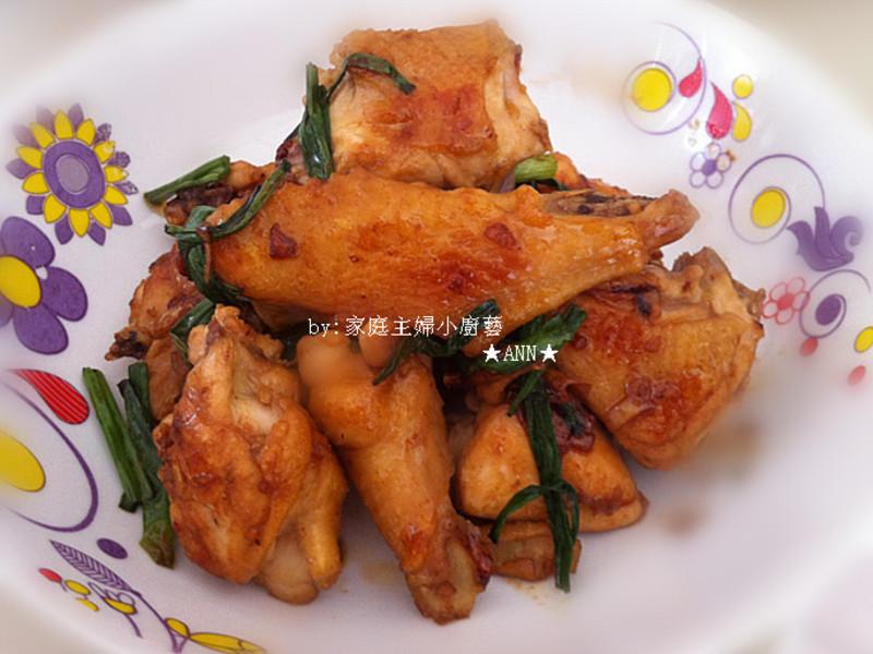 ★簡易的麻油煎雞★
