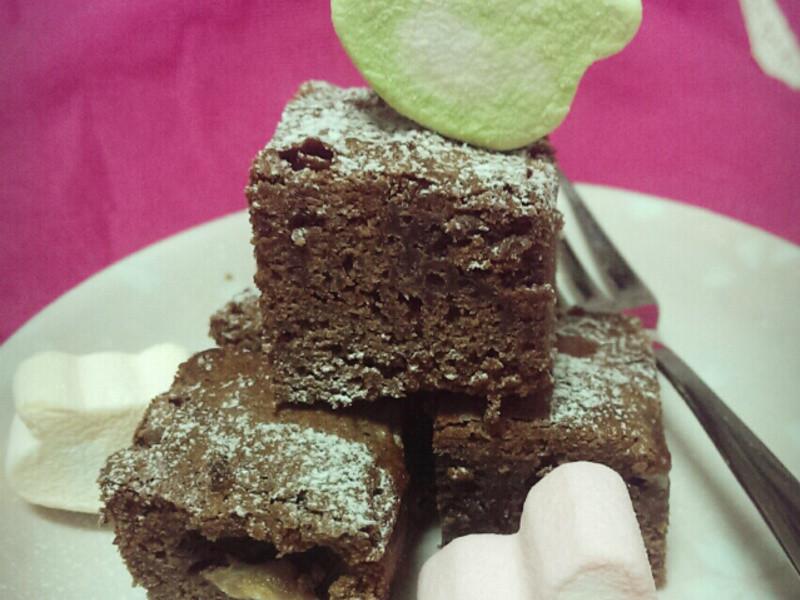 Patricia♥香蕉愛戀巧克力布朗尼