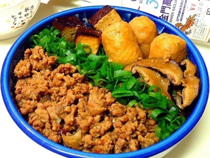 香菇肉燥魚丸滷---金門高粱飄香料理