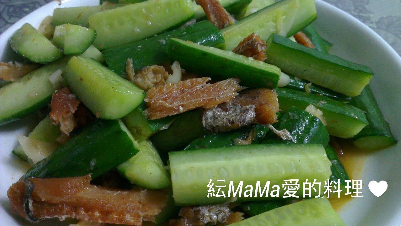 黃瓜拌紅燒鰻魚罐