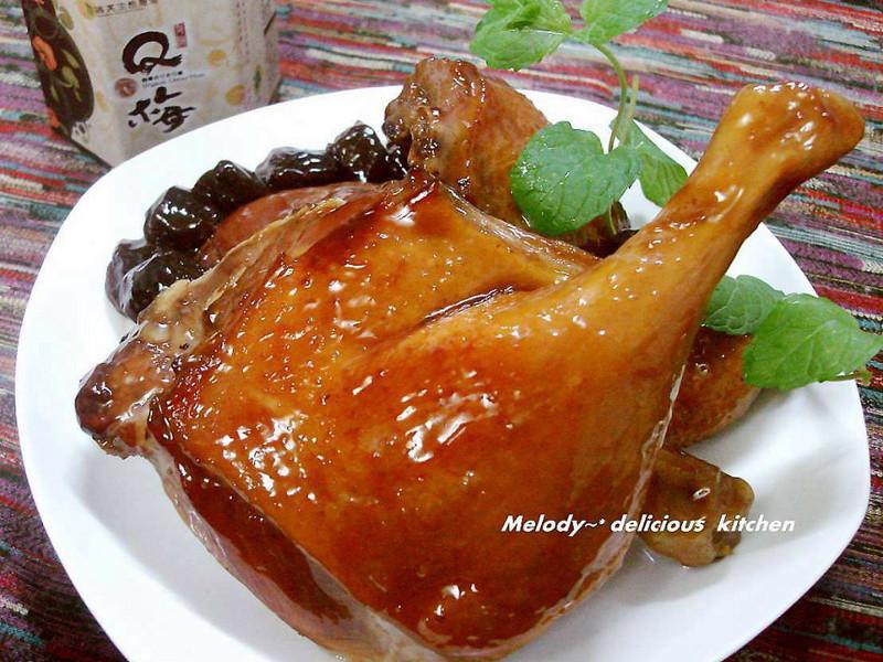 有機Q梅蜜汁封鴨「臺東農產好料理」